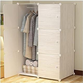 Garde-robe XINYALAMP Couture Armoires de des vêtements durables Chambre familiale Chambre familiale Chambre d'accueil pour...