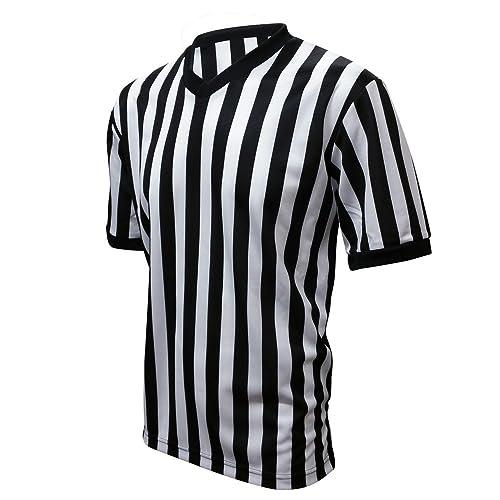 cheaper a9f6f 128ad Basketball Referee Shirt: Amazon.com