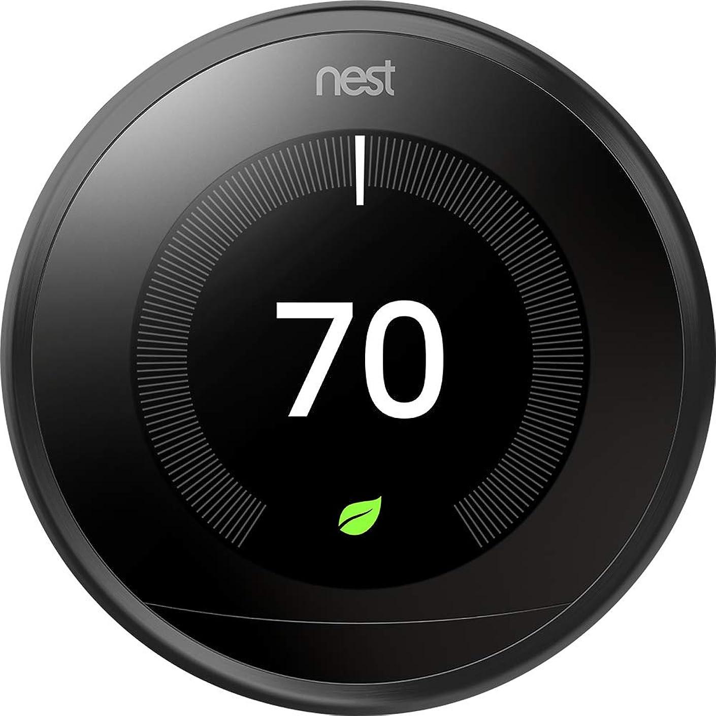 Nest 9750016 T3016US Thermostat 3.3 x 1.2 x 3.3 Black
