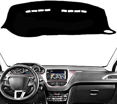 f/ür Opel Astra K 2016 2017 2018 2019 LYSHUI Auto Armaturenbrett Abdeckung Matte Teppich Dekoration Anti-Rutsch Armaturenbrett Shade Pad