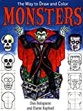 The Way to Draw and Color Monsters (English Edition)