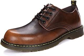 [todaysunny] マーチンシューズ メンズ ワークブーツ ローカット 革靴 エンジニアブーツ レースアップ 紳士 ローカット シューズ カジュアル メンズブーツ