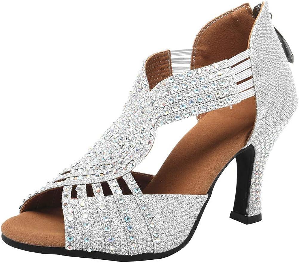 Women Rhinestone Ballroom Dance Shoes Ballroom Latin rhinestone