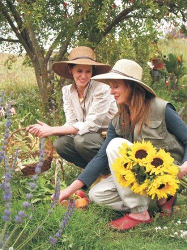 Sloggers Women's Wide Brim Braided Sun Hat with Wind Lanyard - Dark...