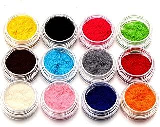 Ktyssp Glitter Fashion Nail Decoration Fuzzy Flocking Velvet Nail Powder