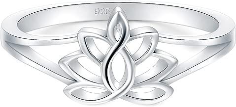 Best lotus flower ring gold Reviews