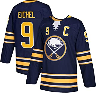 Franklin Sports Men's Jack Eichel -Buffalo Sabres Classic Breathable Jersey - Navy