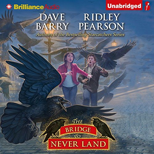 The Bridge to Never Land audiobook cover art