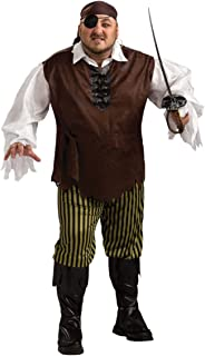 Swashbuckler Costume - Plus Size - Chest Size 46-50