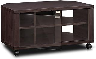 FURINNO Centrum rozrywki TV, drewno, espresso, jeden rozmiar