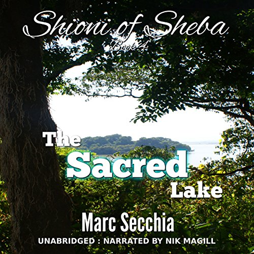 The Sacred Lake audiobook cover art