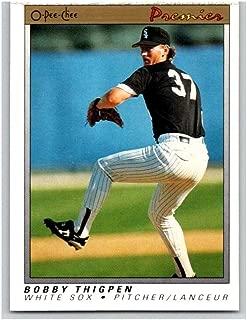 (HCW) 1991 O-Pee-Chee Premeir #120 Bobby Thigpen White Sox MLB Mint