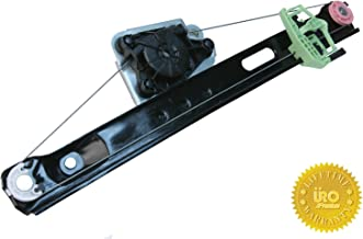 URO Parts 51357140589PRM Window Regulator, Premium Ball Bearing Regulator, Rear Left, without Motor