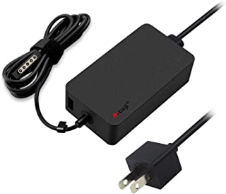ATcuji 48W Charger Power Supply for Surface RT Surface Pro 1 Pro 2 Surface 2 Tablet Microsoft 12V 3.6A 1512 1516 1536 Power Adapter with 5V 1A USB Port and 6.6Ft US Cord
