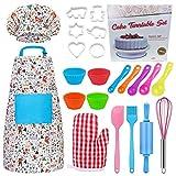 Ropa de Chef Infantil - Niños Hornear Set Niños Utensilios de cocina para regalos - Los Juguetes & Regalo para Niños/Cosplay Accesorios de Cocina