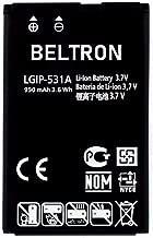 New LGIP-531A SBPL0090501 / SBPL0090503 BELTRON Replacement Battery for Envoy 2 UN160, Envoy 3 UN170, Saber UN200, 237C, 440G, 500G, T-Mobile B450, Cricket B460, AT&T B470, KU250