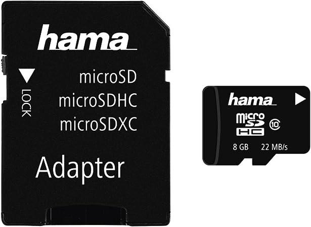 Hama Class 10 Microsdxc 64gb Speicherkarte Inkl Adapter Uhs I