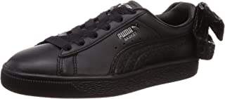 PUMA Basket Bow Womens Sneakers Black