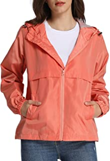 4THSEASON Women's Windbreaker Waterproof Soft Insulated Shell Jacket