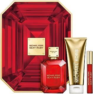michael kors ruby perfume gift set