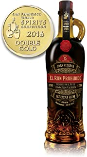 El Ron Prohibido 15 Years Old Solera Finest Blended Mexican Rum Reserva 1 x 0.7 l