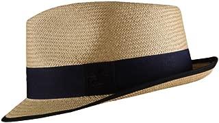 Genuine Unisex Panama Hat Short Brim Beach Hat UPF 50 Straw Hat