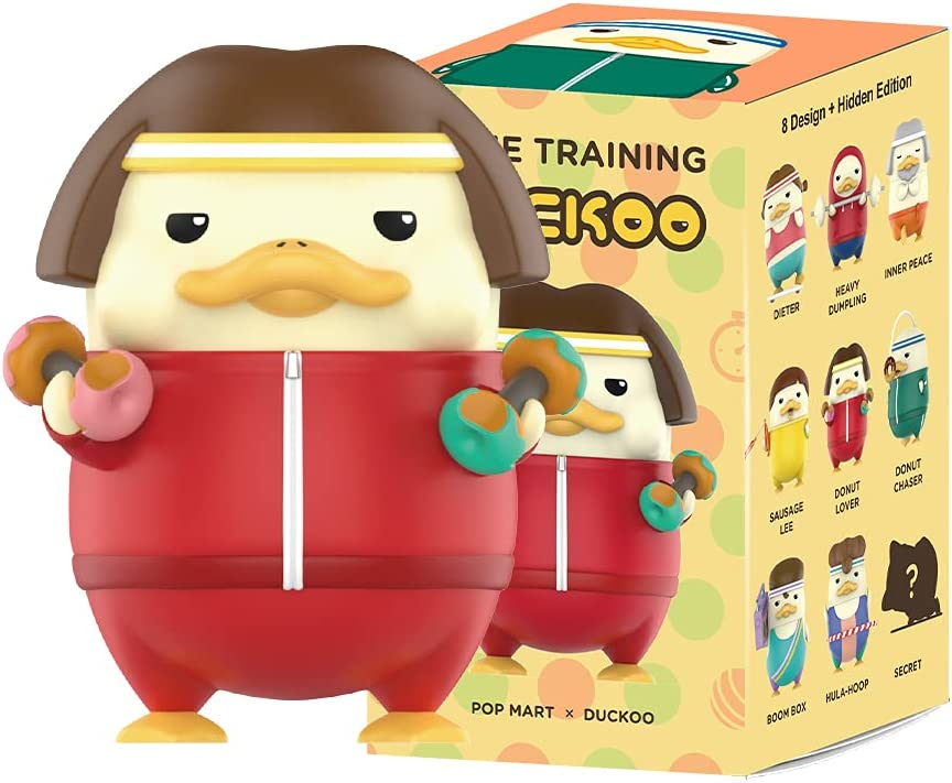 POP MART DUCKOO Fitness Series 8PC Al sold out. Toy Popula Blind Bulk Max 63% OFF Box