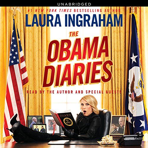 The Obama Diaries audiobook cover art