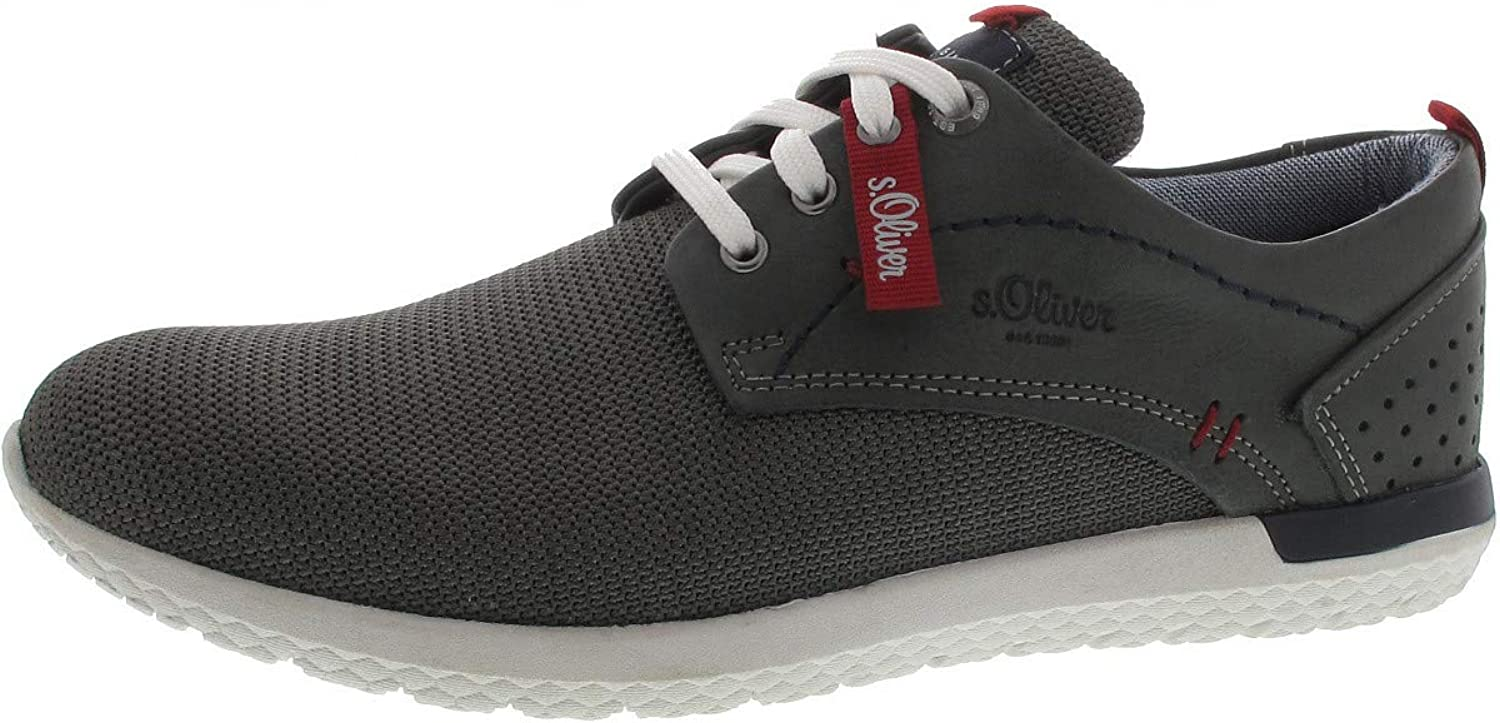 S.Oliver 13630-20 Men Trainers,Low-Tops,Men′s Low shoes,Sports shoes,Lace-up shoes,Breathable