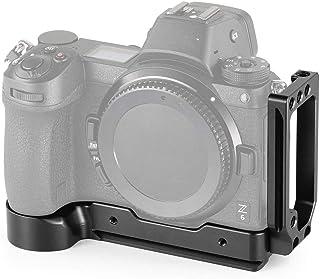 SMALLRIG Z6 / Z7 L-Bracket para Nikon Z6 y Nikon Z7 Camera l Placa para Cámara Z6 / Z7 con 1/4 Agujeros Roscados - 2258