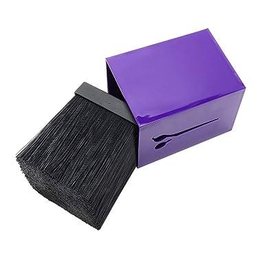 ANGGREK Scissor Stand Professional Hairdressing Clip Holder Storage Box Salon Hairdresser Tool(Purple)