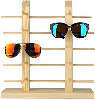wooden glass rack