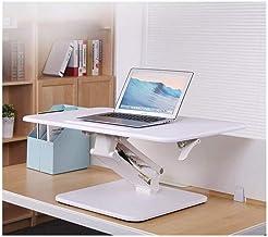 Adjustable Desks for Standing and Sitting - Office Lift Table Foldable Notebook Ergonomic Desk Mobile Computer Desk C (Col...