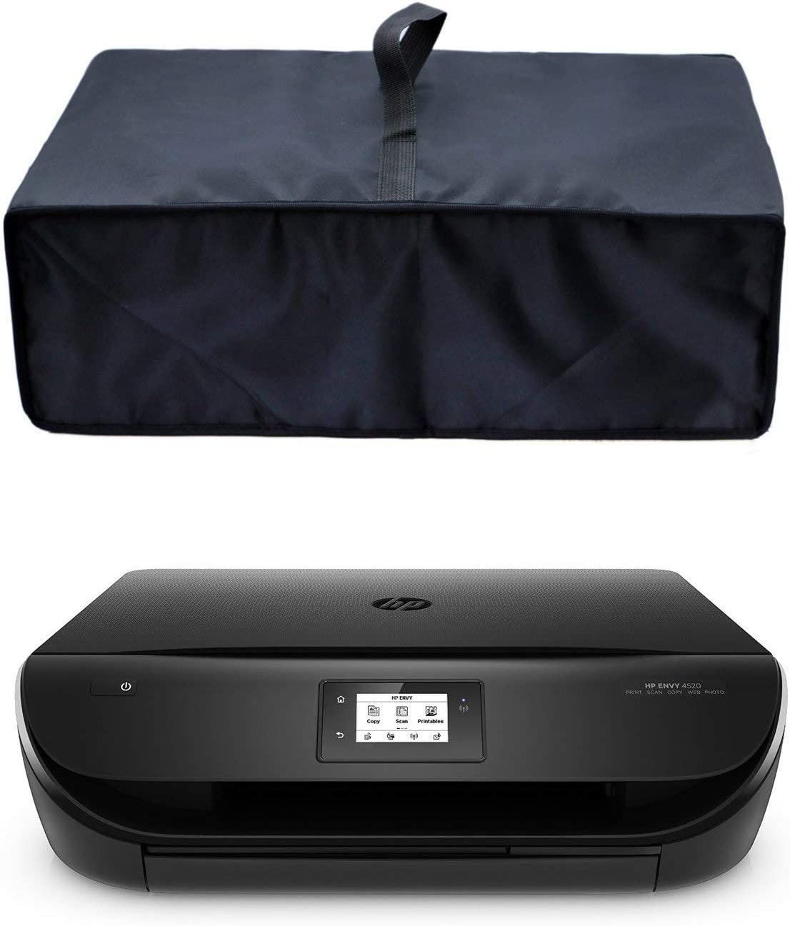 CYGQ Premium Nylon Fabric Waterproof Printer Dust Cover Case Protector for HP Envy 4520/5055/6055 Wireless All-in-One Printer