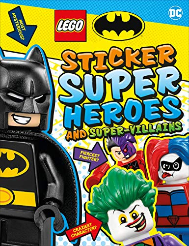 LEGO Batman Sticker Super Heroes and Super-Villains (Lego Sticker Books)