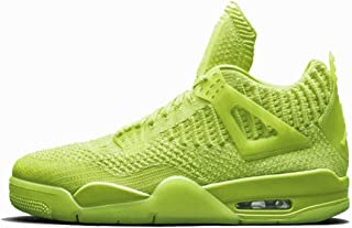 Air Jordan 4 Retro Flyknit Volt Fluorescent Green Weave