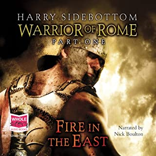 Fire in the East - Warrior of Rome cover art