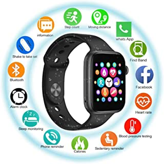 Smart Watch Fitness Tracker with 1.54 inch Full Touch Screen & Bluetooth Calling,Body Temperature Smartwatch for Heart Rat...