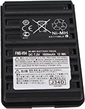 FNBV94 FNB-V94 FNB-V83 7.2V 1800mAh Ni-MH Battery Pack Replacement Battery Compatible for Two Way Radio Yaesu Vertex VX-410, VX-420, VX-420A, VX-160, FT-60R, FT-270 (FBA)