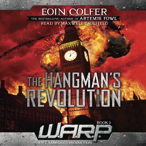 WARP Book 2: The Hangman's Revolution audiobook cover art