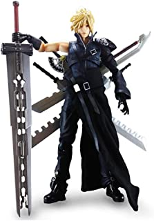 Play Arts Kai Cloud Strife Final Fantasy: Advent Children Action Figure - Equipped with A Variety of Weapon Accessories - High 27CM