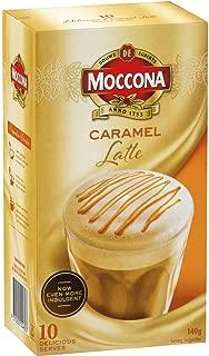 Moccona Caramel Latte, 10 Sachets