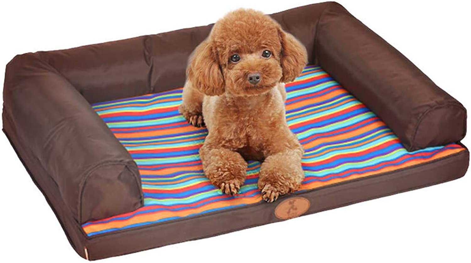 JBP Max Dog Bed Cat Nest Pet Nest Pet Bed 89  68Cm Removable And Washable Kennel Sofa Waterproof Mat Dog Pet Supplies,E