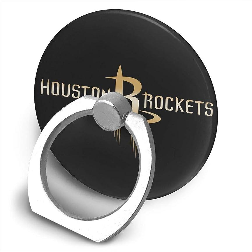傷跡シェトランド諸島死んでいるHouston Rockets Gold Logo スマホ リング ホールドリング 指輪リング 薄型 おしゃれ スタンド機能 落下防止 360度回転 タブレット/スマホ IPhone/Android各種他対応