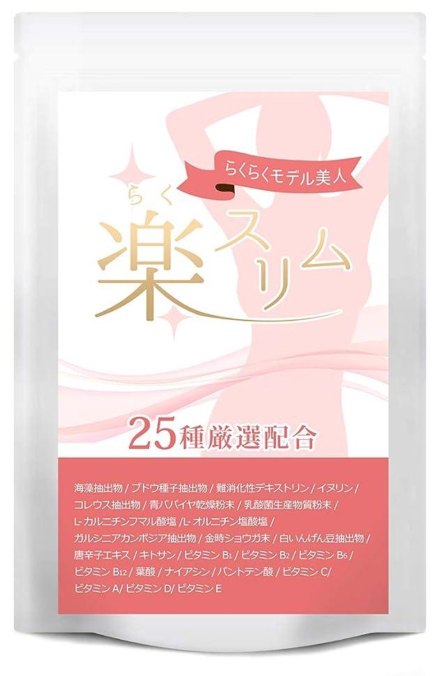 ミネラル扱いやすい不安定なダイエット サプリ 楽スリム 燃焼系 サプリメント ダイエットサプリ 60粒30日分