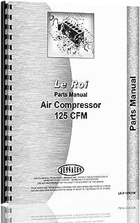 leroi air compressor parts manual