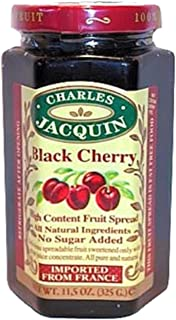 Charles Jacquin French All Natural Fruit Spread 11.5 Ounce Imported From France (Four Fruits)