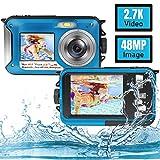 Best Waterproof Cameras - Underwater Camera Full HD 2.7K 48MP Waterproof Camera Review