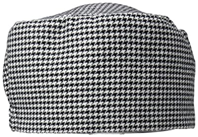 Dickies Chef Beanie,Elastic, Houndstooth, One Size