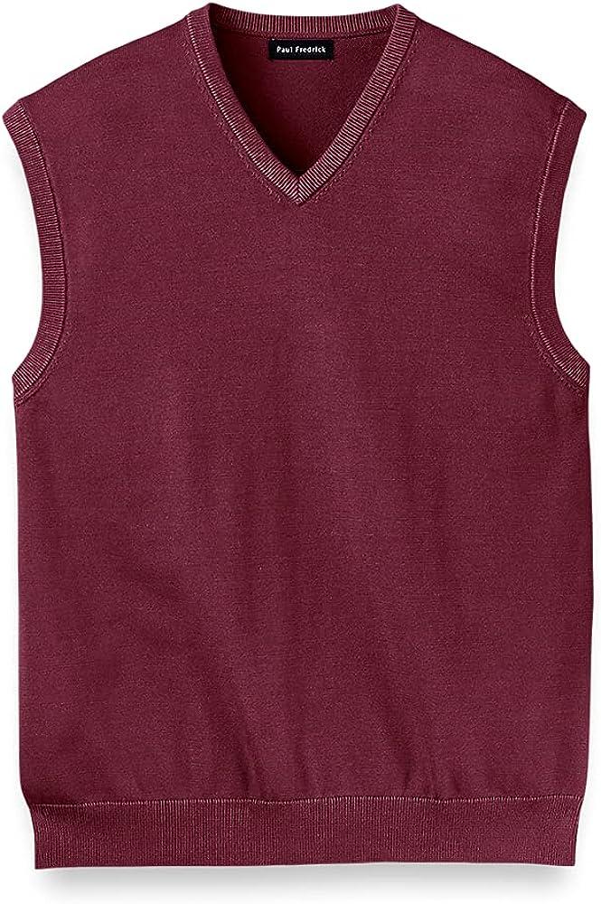 Paul Fredrick Men's Supima Cotton Vest